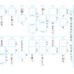 【すきるまドリル】小学2年 漢字 「漢字の書き取り」プリント