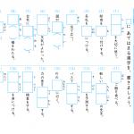 【すきるまドリル】小学6年 漢字 「漢字の書き取り」 無料学習プリント