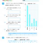 【すきるまドリル】 小学3年生算数 「ぼうグラフと表」 無料学習プリント
