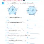 【すきるまドリル】 小学5年生 算数 「多角形と円」 無料学習プリント