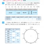 【すきるまドリル】 小学5年生 算数 「百分率とグラフ」 無料学習プリント